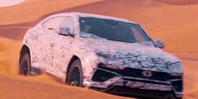 Видео: Lamborghini Urus покоряет пустыню