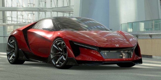 Honda представила виртуальный спорткар Sports Vision GT