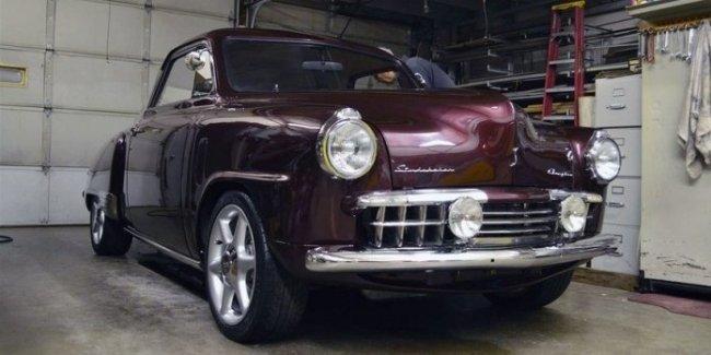 Что-то по-настоящему уникальное: раритетный Studebaker пересадили на агрегаты Skyline