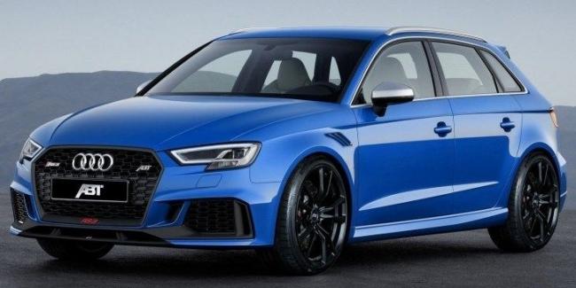 «Заряженный» Audi RS3 получил 460-сильный двигатель