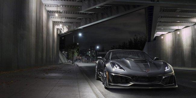 Chevrolet представил свой самый экстремальный Corvette