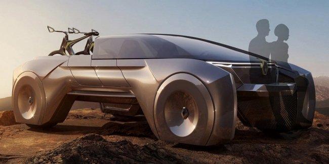 Renault показал, как будет выглядеть пикап будущего