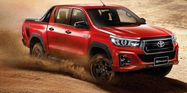 Toyota представила обновлённый пикап Hilux
