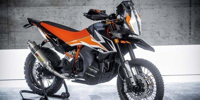 EICMA 2017: прототип KTM 790 Adventure R