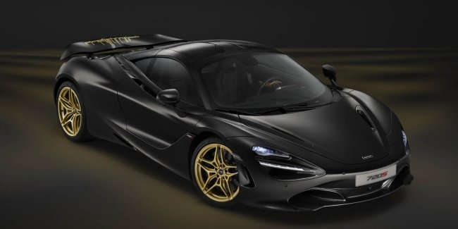В Дубае представлен чёрно-золотой суперкар McLaren 720S