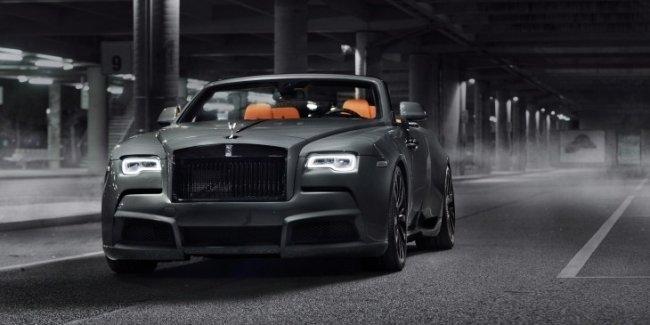 «Передозировка»: ателье Spofec «прокачало» кабриолет Rolls-Royce Dawn