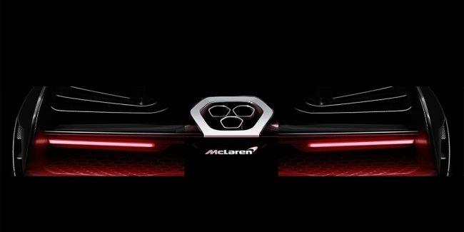 McLaren опубликовал изображение экстремального дорожного гиперкара