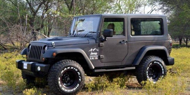 Индусы превратили старую Mahindra в Jeep Wrangler