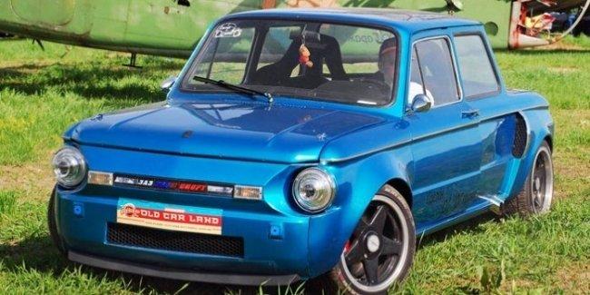 Украинец успешно совместил BMW и «Запорожец»