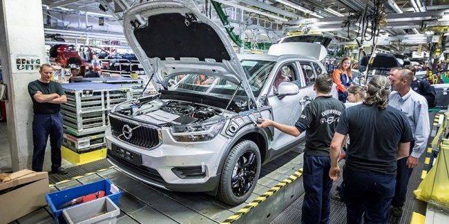 Началось производство самого маленького кроссовера Volvo