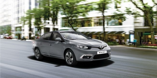 Представлен обновлённый электроседан Renault Samsung SM3 Z.E.