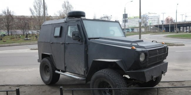 Броневик Гелендваген: Mercedes-Benz из УАЗа