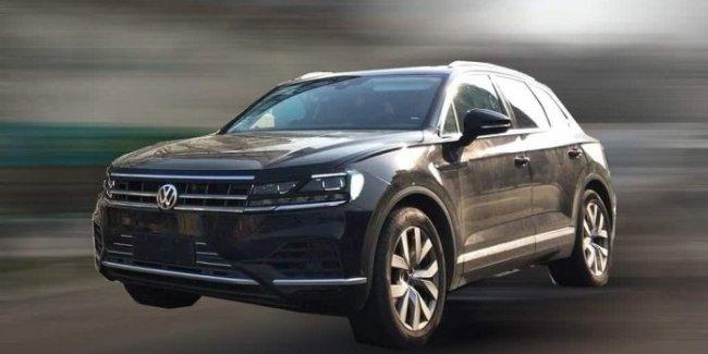 В Китае тестируют VW Touareg нового поколения