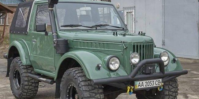 Украинец переделал Toyota Land Cruiser в ГАЗ-69