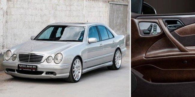 Новый интерьер сделал редчайшей полноприводный Mercedes-Benz E55 AMG уникальным