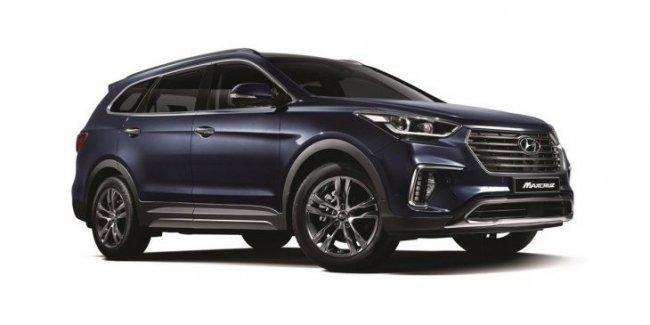Hyundai модернизировала кроссовер Grand Santa Fe