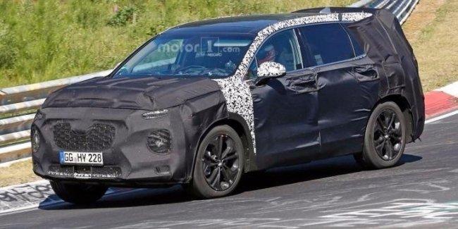 Новый Hyundai Santa Fe представят в феврале 2018 года