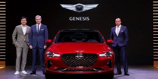 Седан Genesis G70 дебютировал на Ближнем Востоке
