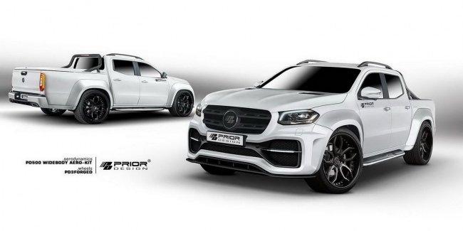 Prior Design нарастил мускулы пикапу Mercedes-Benz