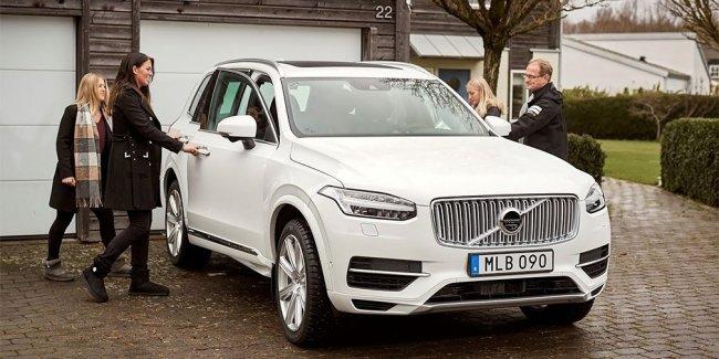 Volvo предоставит шведским семьям сотню беспилотных автомобилей