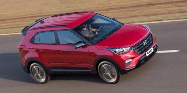 На бразильский рынок выходит спортивный кроссовер Hyundai Creta