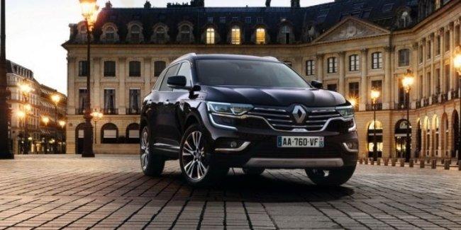 Стартовали продажи роскошного Renault Koleos Initiale Paris