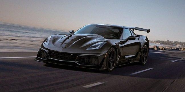 Первый новый Corvette ZR1 пустят с молотка