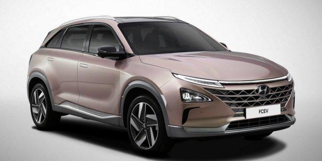 Официально: Hyundai анонсировал премьеру водородного кроссовера