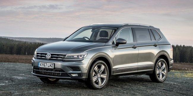 Озвучены цены семиместного кроссовера Volkswagen Tiguan Allspace