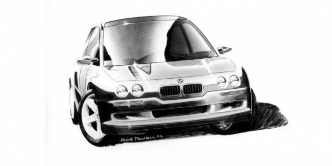 Это что, BMW? В Сети показали концепт «баварцев», который опередил свое время