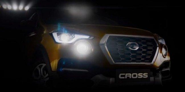 Первый кроссовер Datsun показали на видео