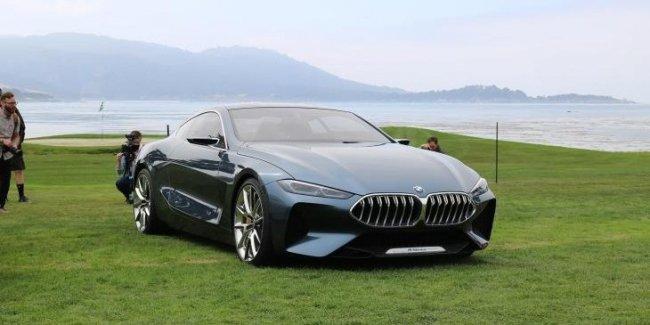 Серийное купе BMW 8-Series рассекретили в сети