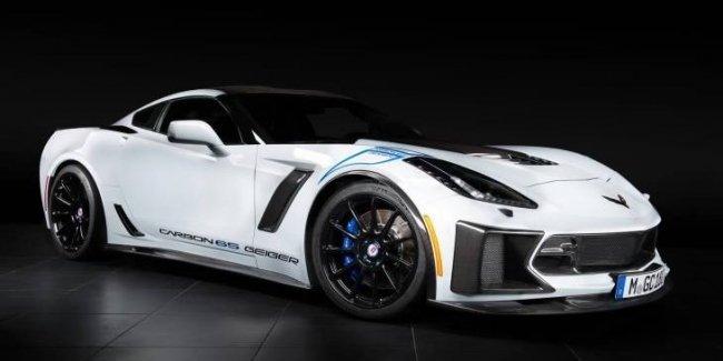 Ателье Geiger Cars добавило мощи купе Chevrolet Corvette Z06