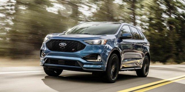 Официально: Ford представил обновлённый кроссовер Edge