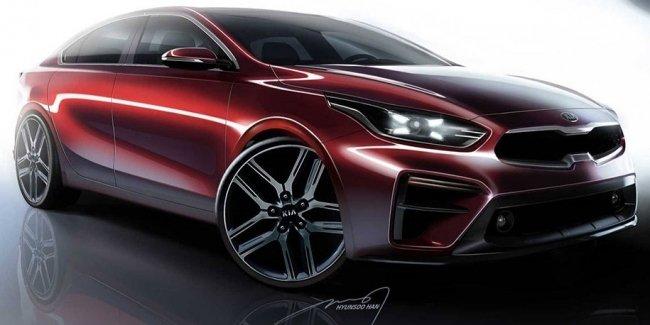 Новый Kia Cerato сделают похожим на Stinger