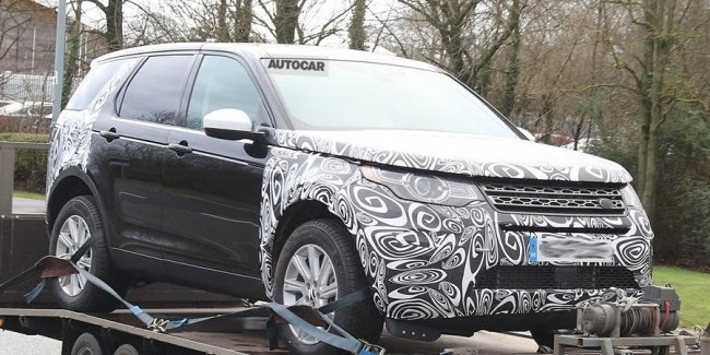 Land Rover вывел на тесты обновлённый Discovery Sport