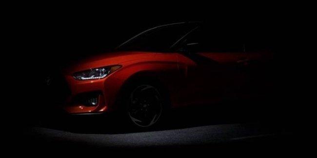 Hyundai опубликовал финальный тизер нового Veloster