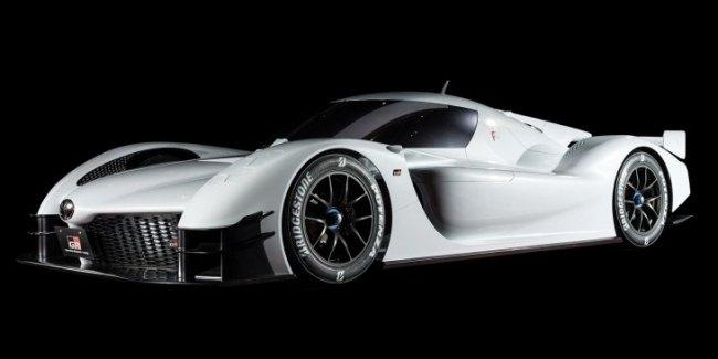Toyota рассекретила концептуальный гиперкар GR Super Sport Concept