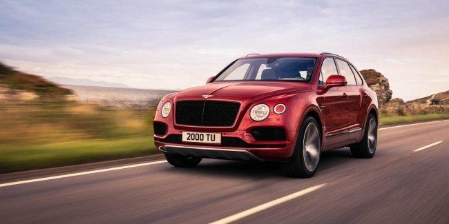 Официально: Bentley Bentayga получил 550-сильный бензиновый мотор V8