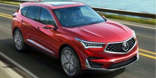 Вот так будет выглядеть новая Acura RDX. Первые фотографии