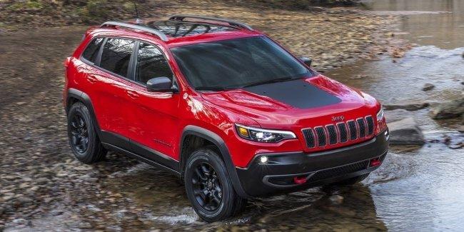 Рестайлинговый «американец»: в Детройте представлен обновлённый Jeep Cherokee