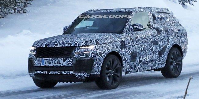 На тестах впервые замечен Range Rover Coupe