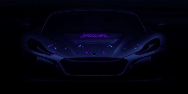 Новый гиперкар Rimac: первые изображения