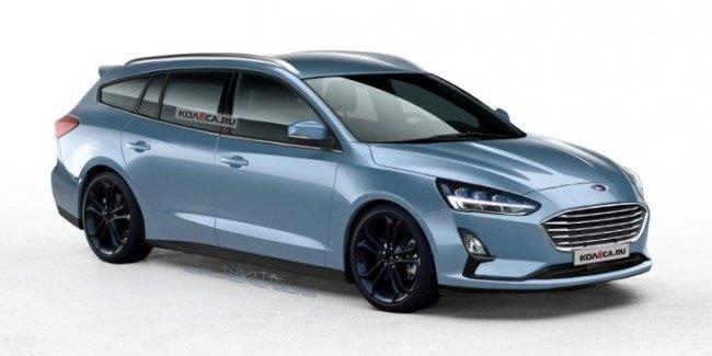 Универсал Ford Focus нового поколения каким он будет?