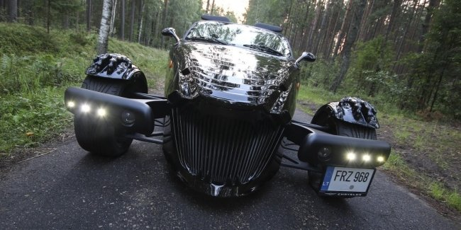 В Украине выставлен на продажу уникальный авто Чужого