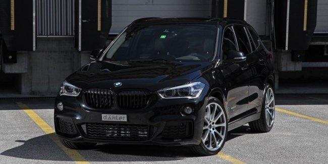 Dahler зарядил BMW X1 «по полной»