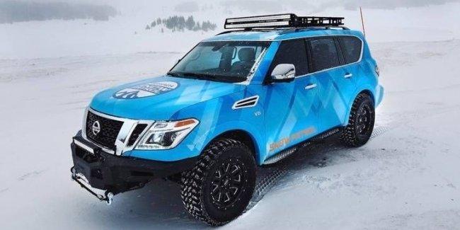Nissan представил экстремальный внедорожник Armada Snow Patrol