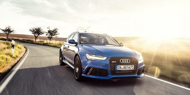 Компания Audi сделала 705-сильный «прощальный» универсал RS6