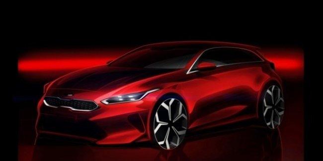 Официальное изображение нового Kia cee'd: теперь он Ceed