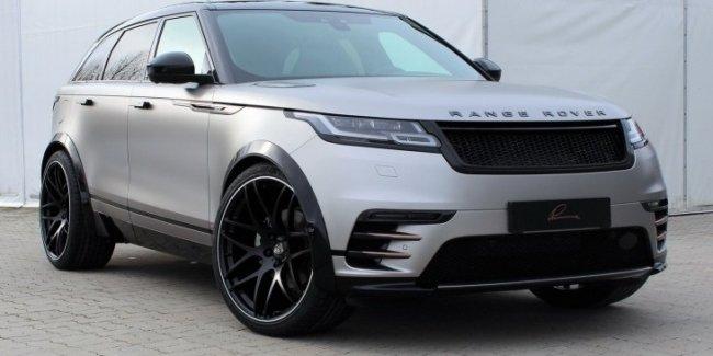 «Живые» фото внедорожника Range Rover Velar by Lumma Design
